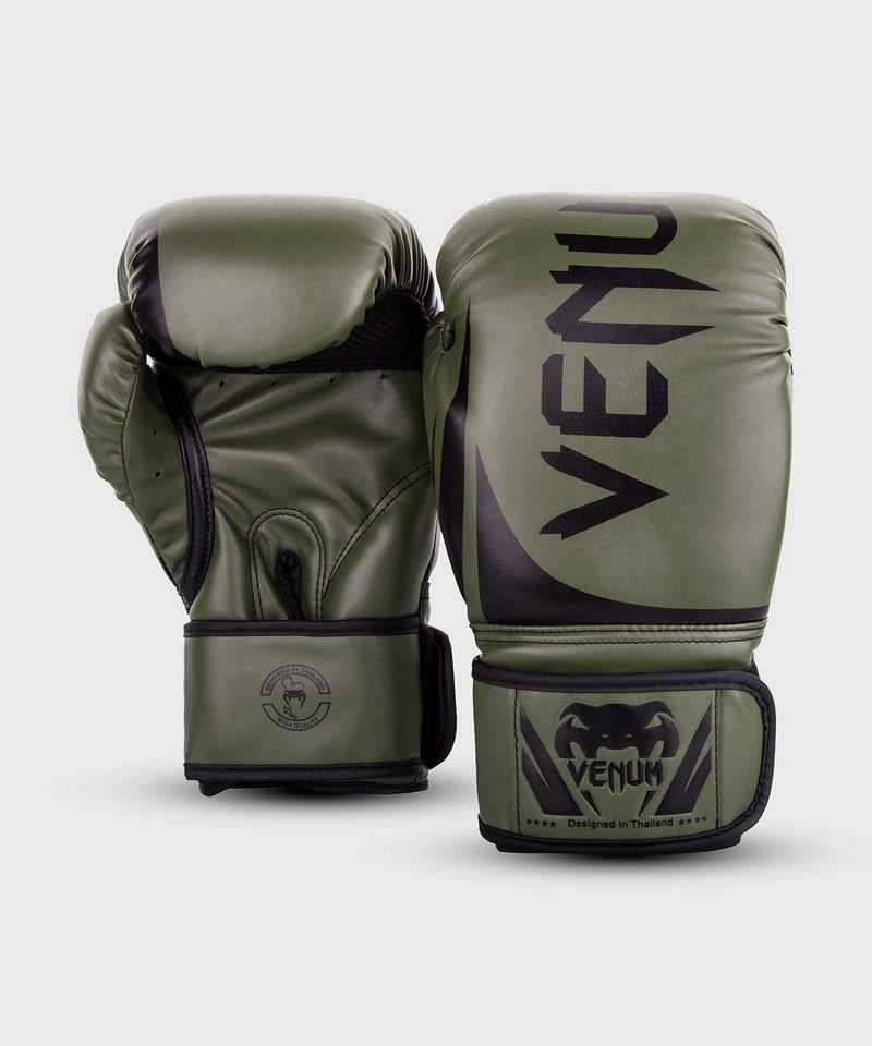 Venum Challenger 2.0 Boxing Gloves – Khaki/Black picture 2