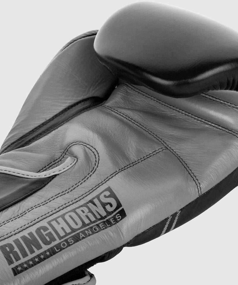 Ringhorns Destroyer Boxing Gloves - Leather - Black/Grey picture 4