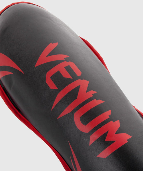 Venum Challenger Shin guards - Black/Red picture 2