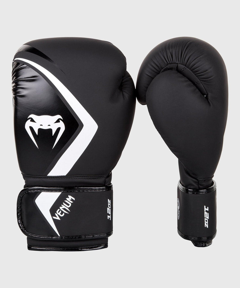 Venum Boxing Gloves Contender 2.0 - Black/Grey-White picture 1