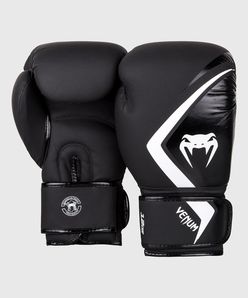 Venum Boxing Gloves Contender 2.0 - Black/Grey-White picture 2