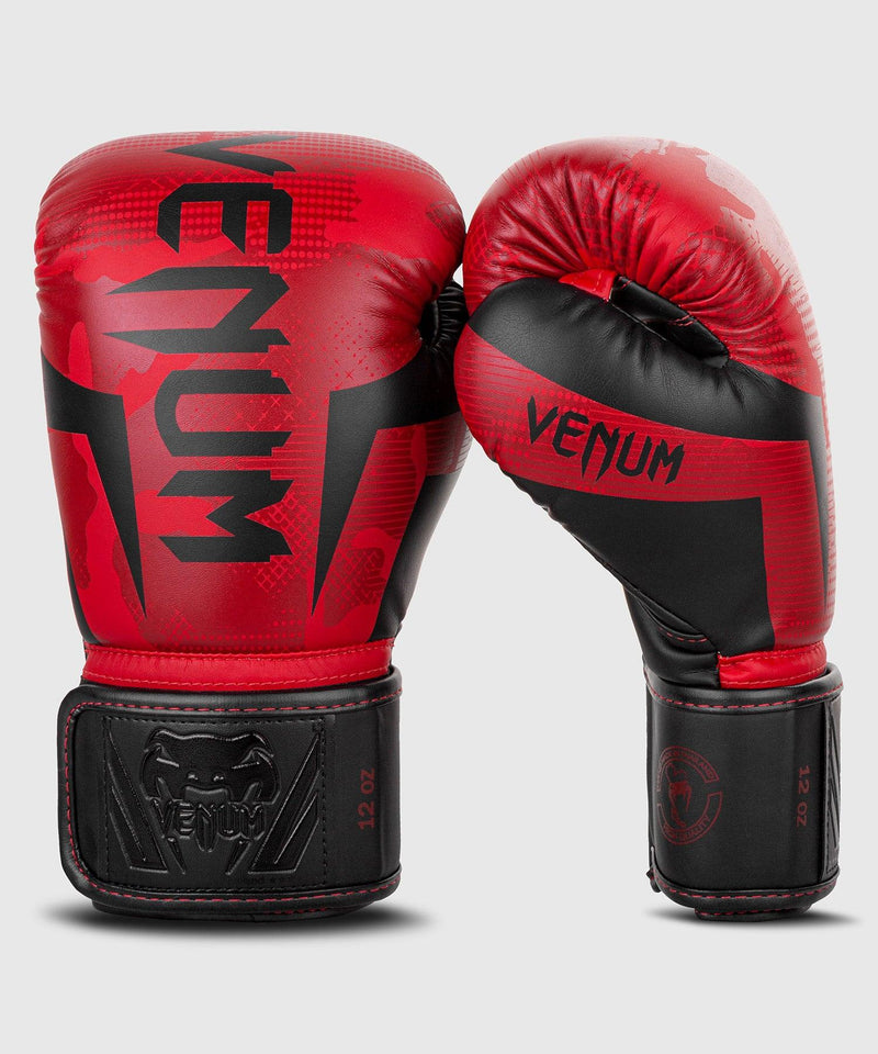 Venum Elite Boxing Gloves - Red Camo picture 3