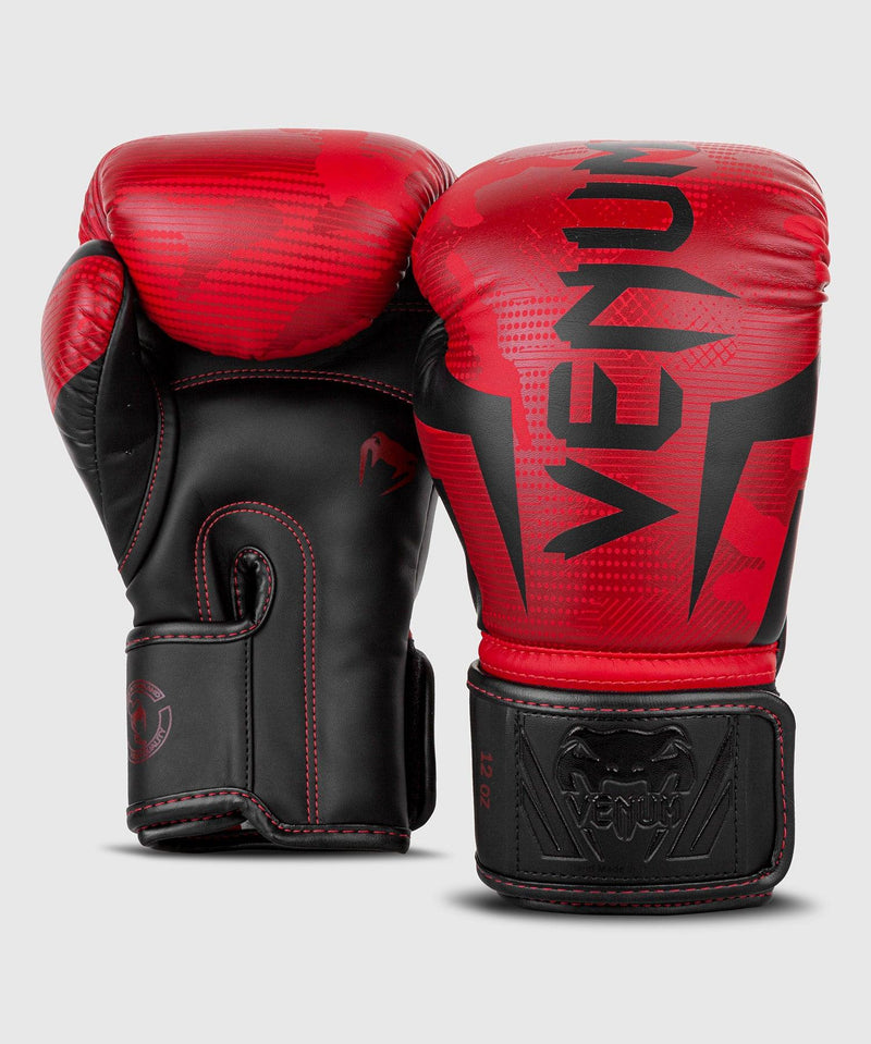 Venum Elite Boxing Gloves - Red Camo picture 4
