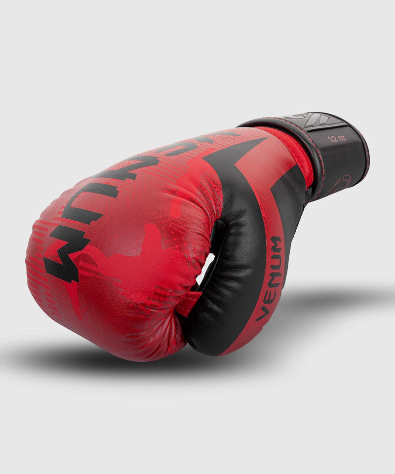 Venum Elite Boxing Gloves - Red Camo picture 2