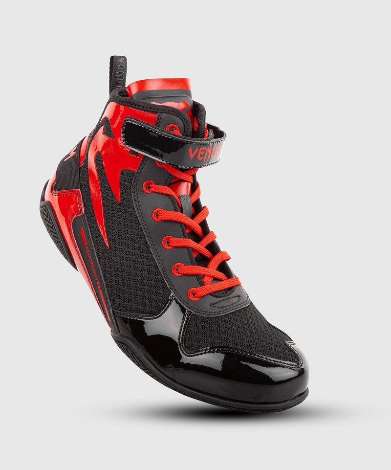 Venum Giant Low Boxing Shoes - Black/Red picture 1
