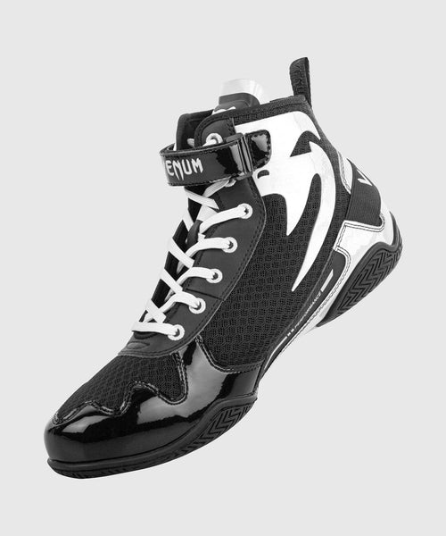 Venum Giant Low Boxing Shoes - Black/White picture 2