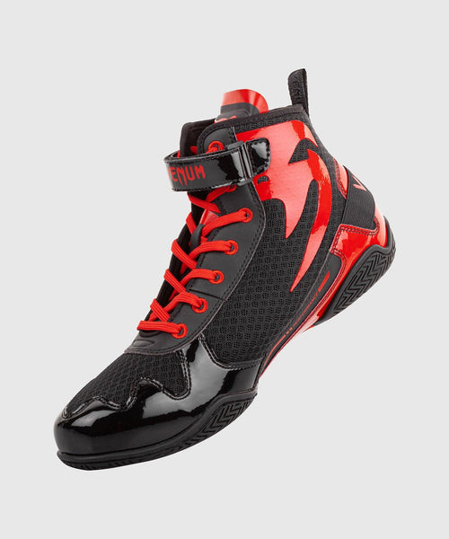 Venum Giant Low Boxing Shoes - Black/Red picture 12