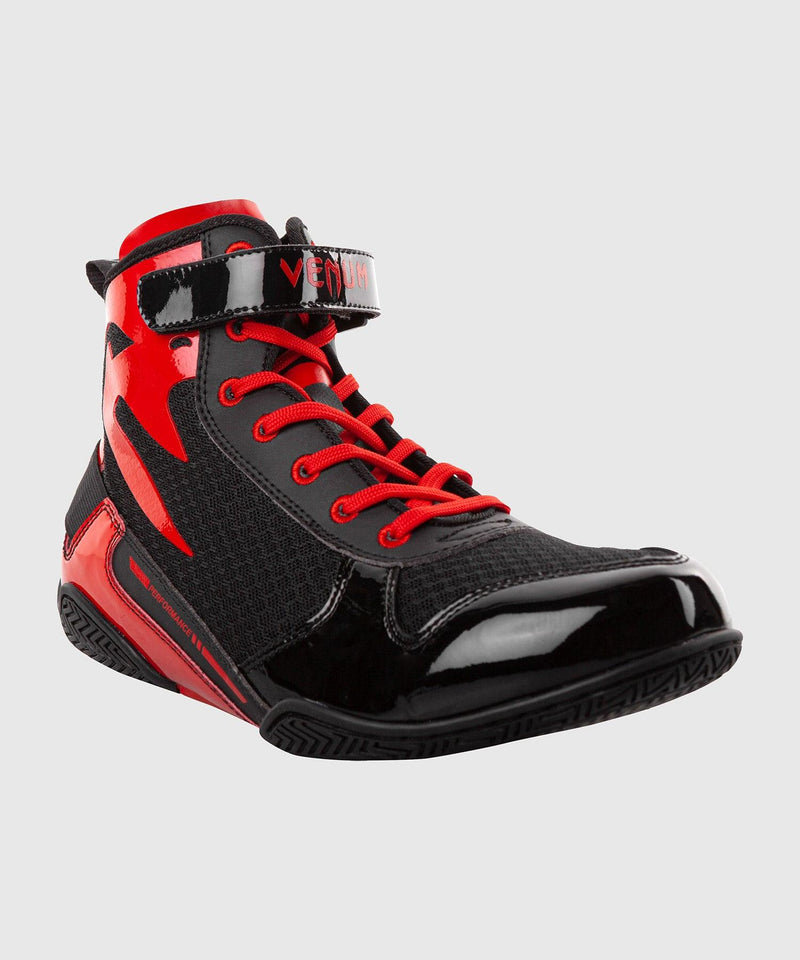 Venum Giant Low Boxing Shoes - Black/Red picture 4