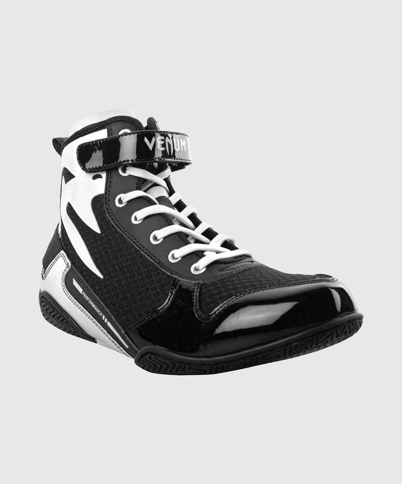 Venum Giant Low Boxing Shoes - Black/White picture 5