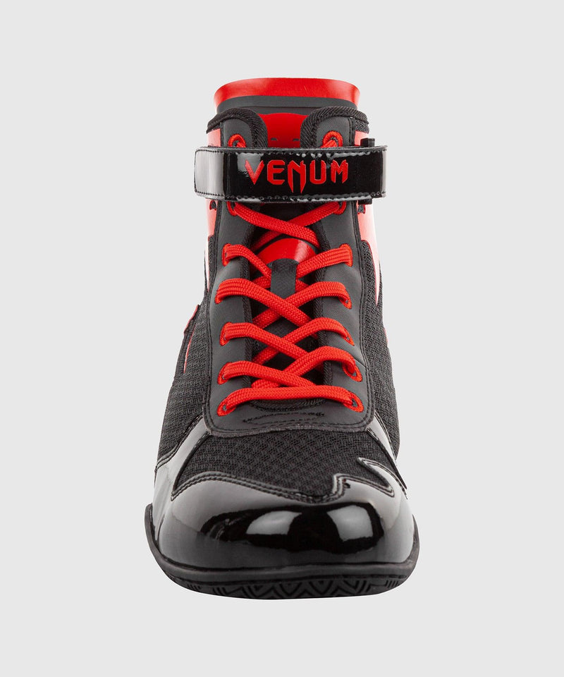 Venum Giant Low Boxing Shoes - Black/Red picture 3