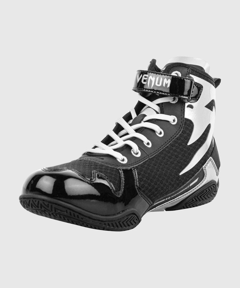 Venum Giant Low Boxing Shoes - Black/White picture 3