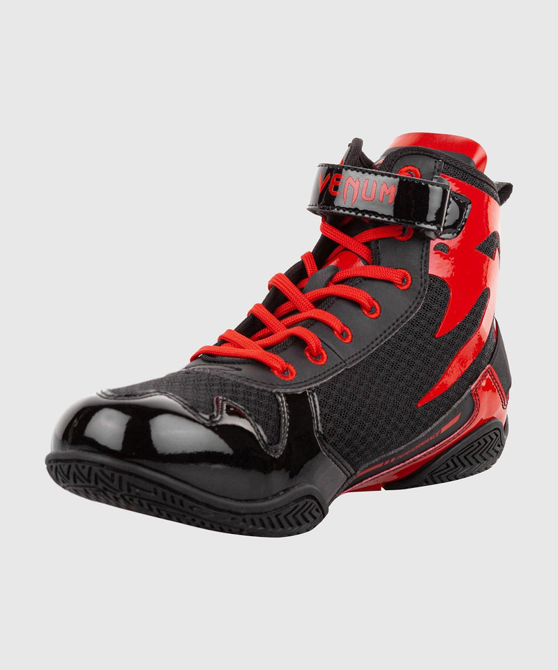 Venum Giant Low Boxing Shoes - Black/Red picture 2