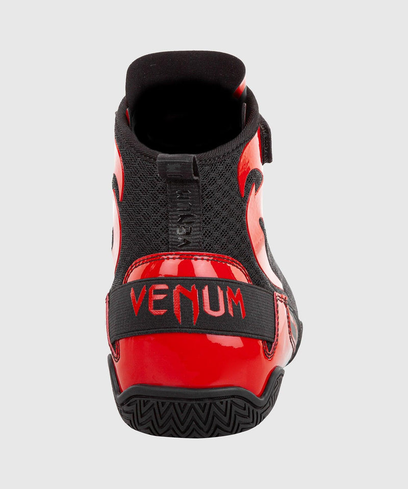 Venum Giant Low Boxing Shoes - Black/Red picture 6