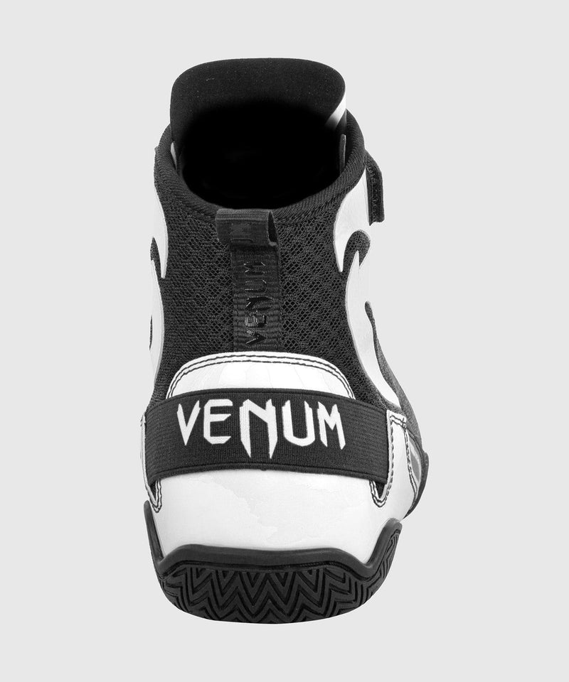 Venum Giant Low Boxing Shoes - Black/White picture 7