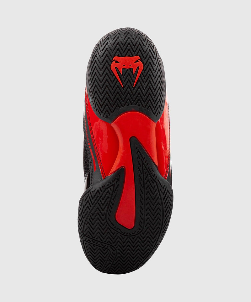 Venum Giant Low Boxing Shoes - Black/Red picture 5
