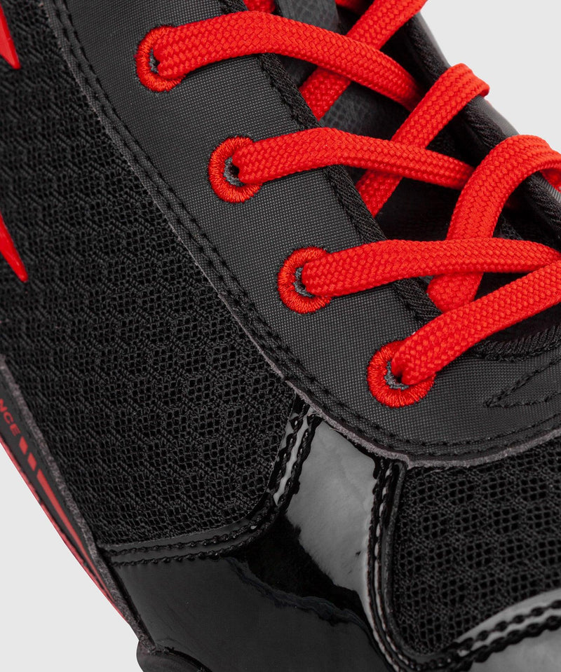 Venum Giant Low Boxing Shoes - Black/Red picture 9
