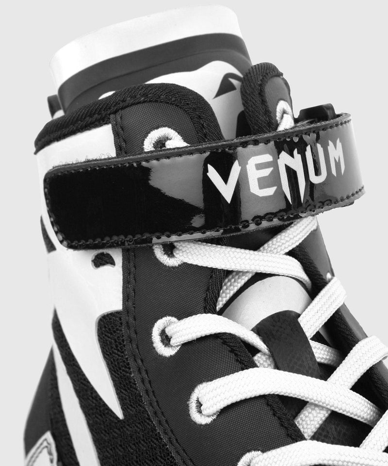 Venum Giant Low Boxing Shoes - Black/White picture 9