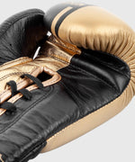 Venum Shield Pro Boxing Gloves - With Laces - Black/Gold picture 6