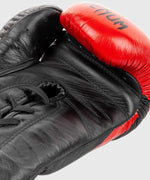 Venum Hammer Pro Boxing Gloves - With Laces - Black/Red picture 6