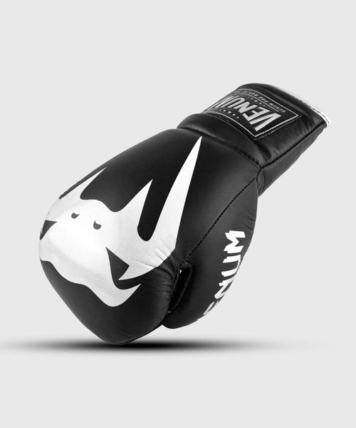 Venum Giant 2.0 Pro Boxing Gloves - With Laces - Black/White picture 1