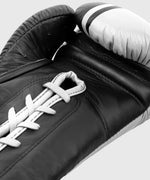 Venum Shield Pro Boxing Gloves - With Laces - Black/White picture 7
