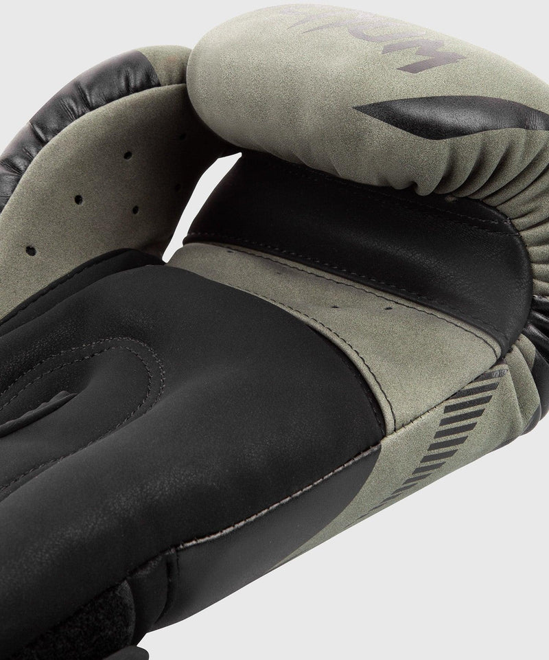 Venum Impact Boxing Gloves - Khaki/Black picture 4