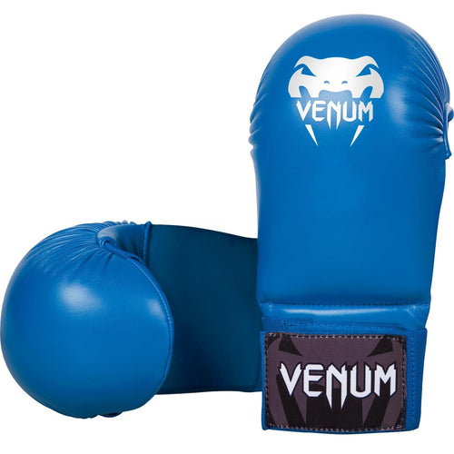 Venum Karate Mitts - Without Thumb Protection - Blue  picture 1