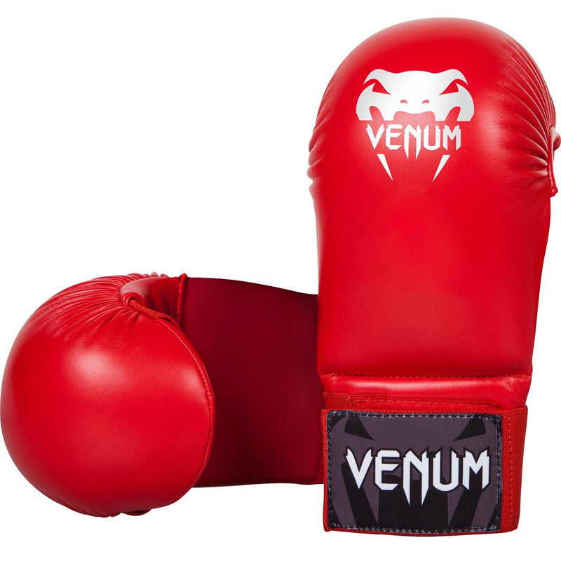 Venum Karate Mitts - Without Thumb Protection - Red picture 1