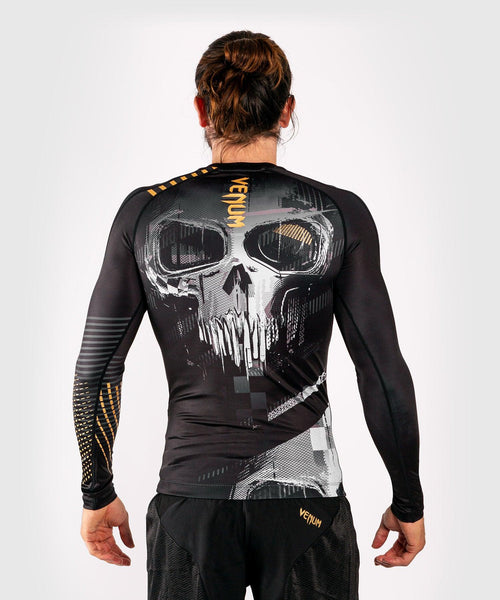 Venum Skull Rashguard - Long sleeves - Black picture 2