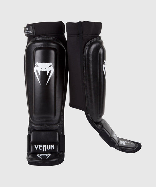Venum 360 MMA Shin Guards - Black picture 1