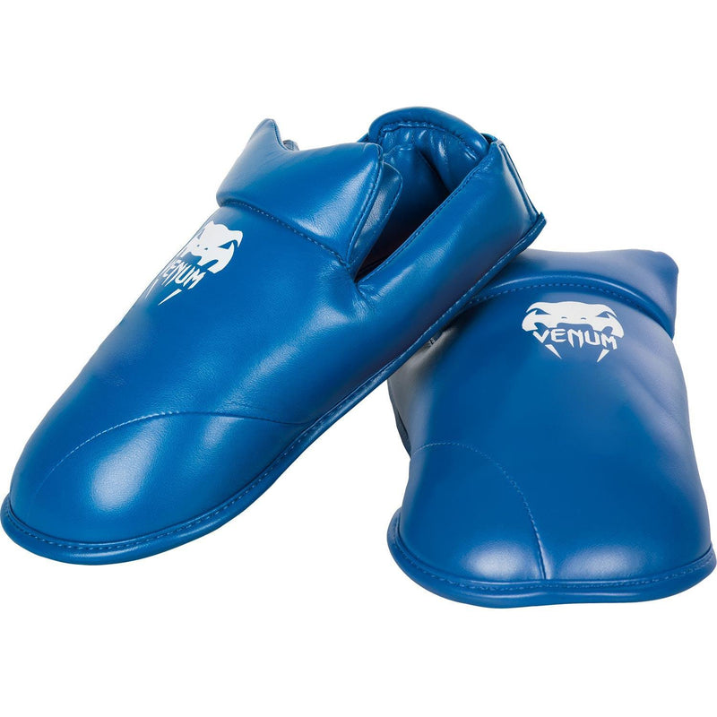 Venum Karate Shin Pad & Foot Protector - Blue picture 2