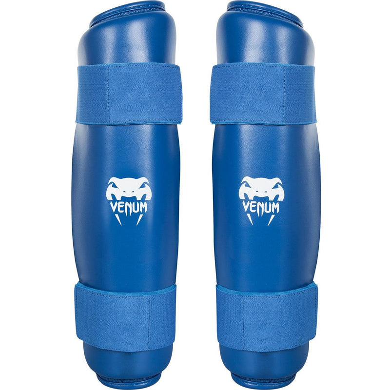 Venum Karate Shin Pad & Foot Protector - Blue picture 3