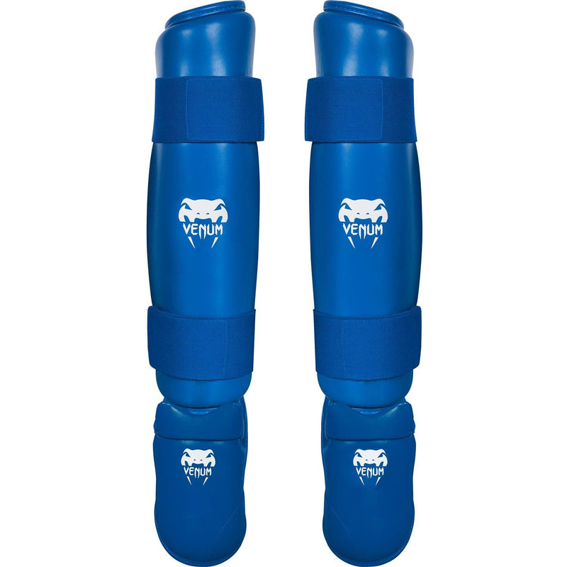 Venum Karate Shin Pad & Foot Protector - Blue picture 1
