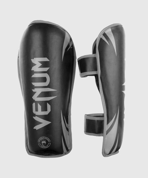 Venum Challenger Shin guards - Black/Grey picture 1