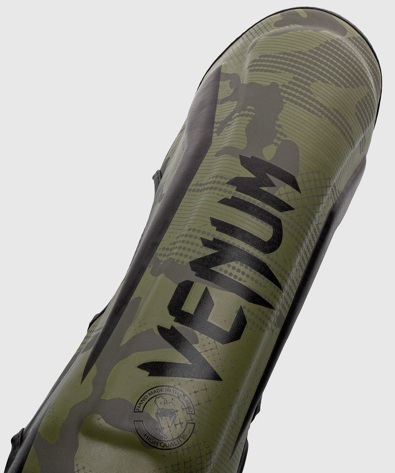 Venum Elite Shin Guards - Khaki camo picture 2