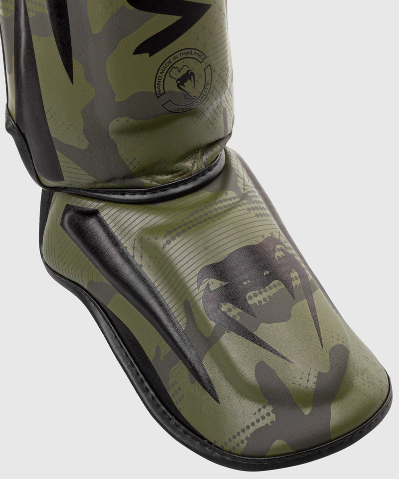 Venum Elite Shin Guards - Khaki camo picture 4