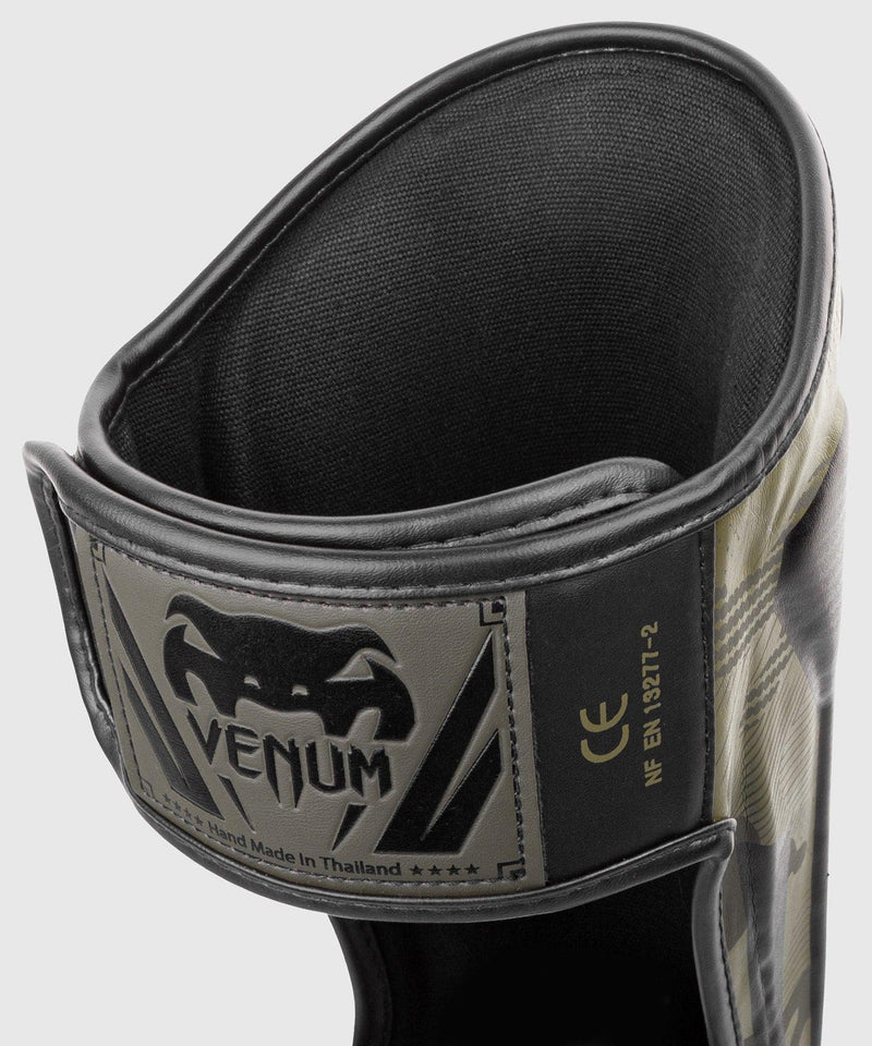 Venum Elite Shin Guards - Khaki camo picture 3