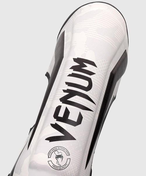 Venum Elite Shin Guards - White/Camo picture 2