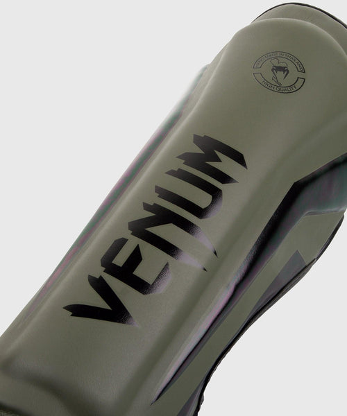 Venum Elite Standup Shin guards - Khaki/Black picture 2