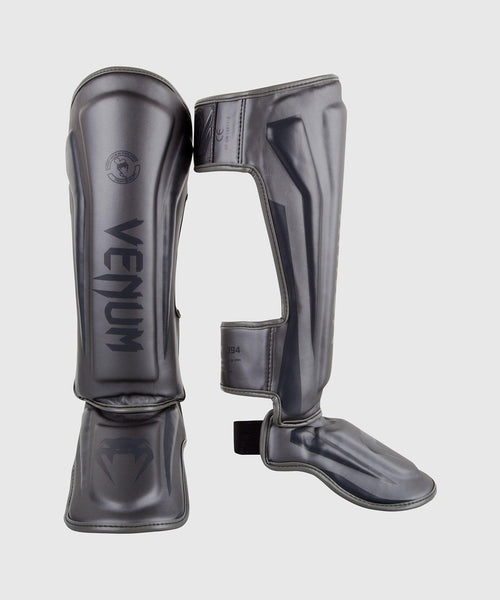 Venum Elite Standup Shin guards - Grey/Grey picture 1