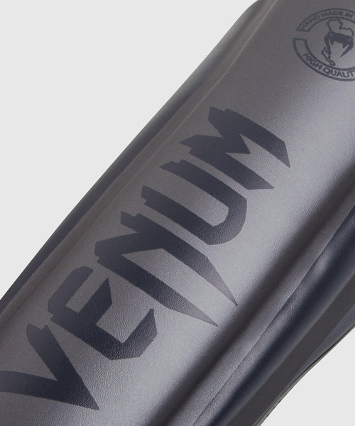 Venum Elite Standup Shin guards - Grey/Grey picture 2