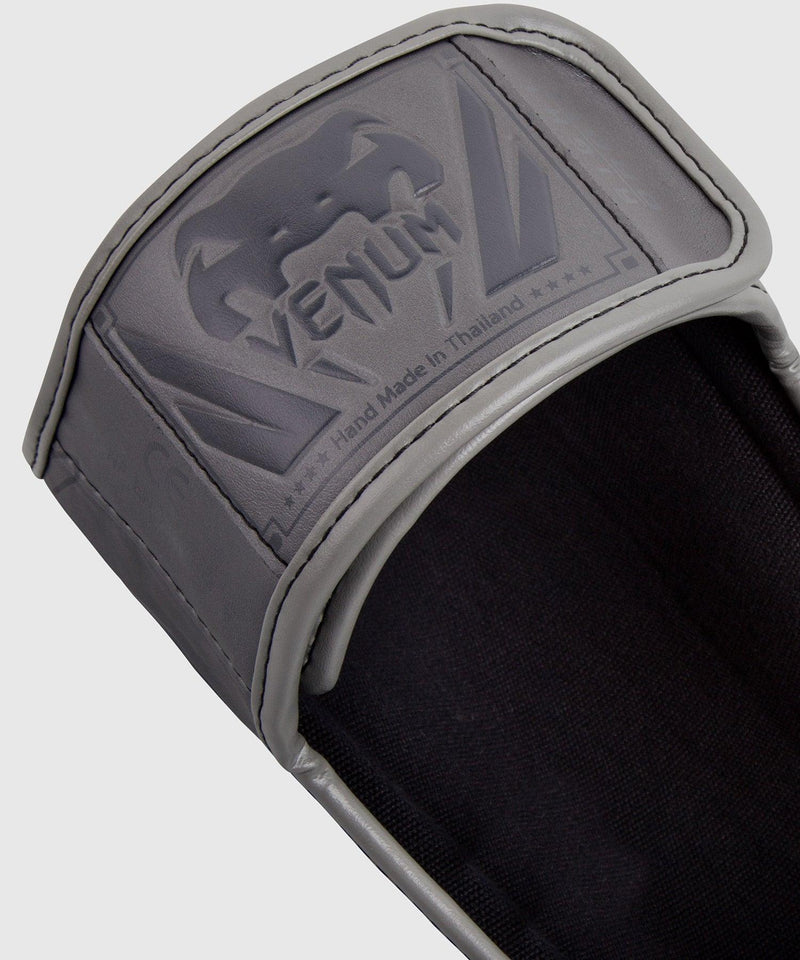 Venum Elite Standup Shin guards - Grey/Grey picture 3