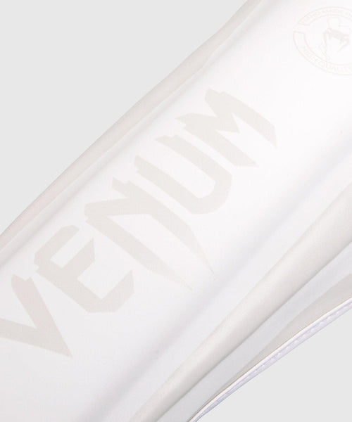 Venum Elite Standup Shin guards - White/White picture 2
