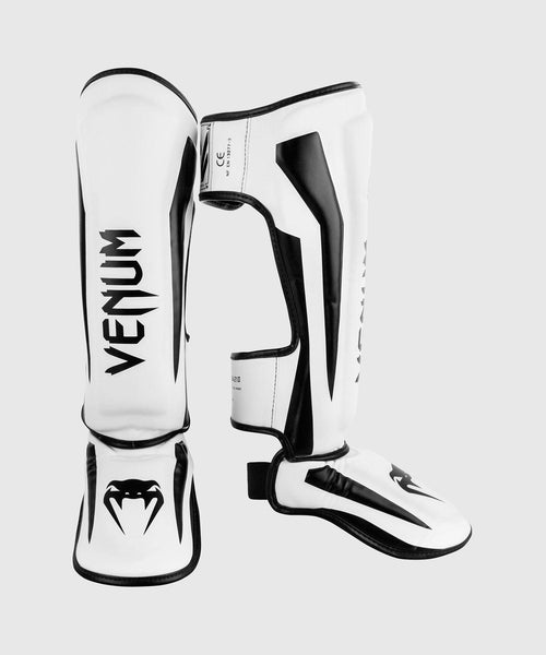 Venum Elite Standup Shin guards - White/Black picture 1