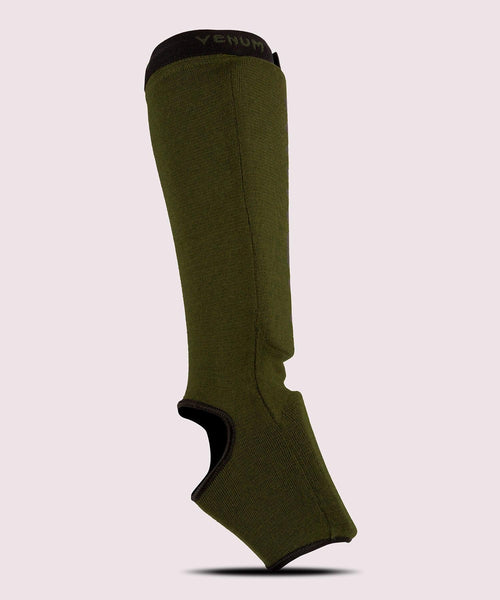 Venum Kontact Shin Guards - Khaki/Black picture 2