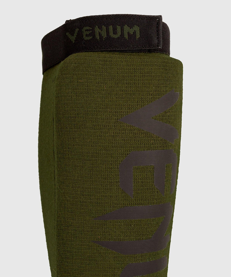 Venum Kontact Shin Guards - without foot - Khaki/Black picture 3