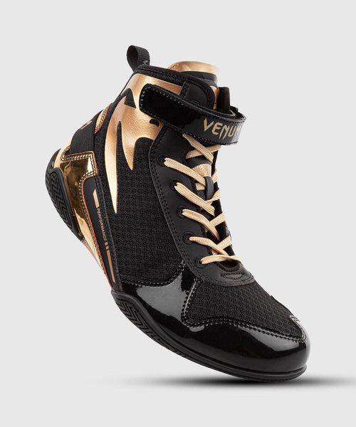 Venum Giant Low Boxing Shoes - Black/Gold picture 1