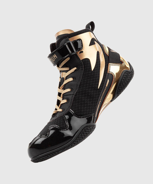 Venum Giant Low Boxing Shoes - Black/Gold picture 2