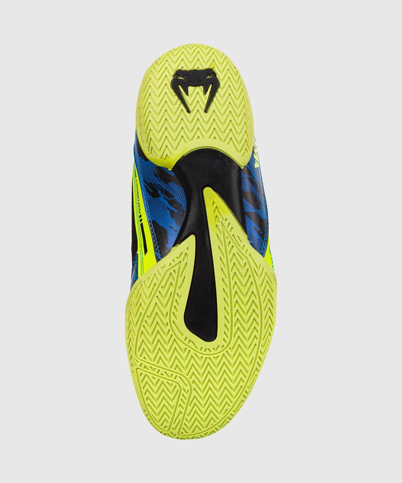 Venum Giant Low Loma Edition Boxing Shoes - Blue/Yellow picture 8