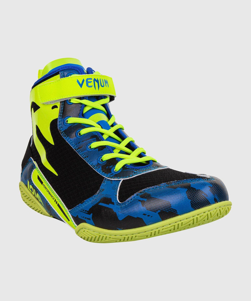 Venum Giant Low Loma Edition Boxing Shoes - Blue/Yellow picture 6